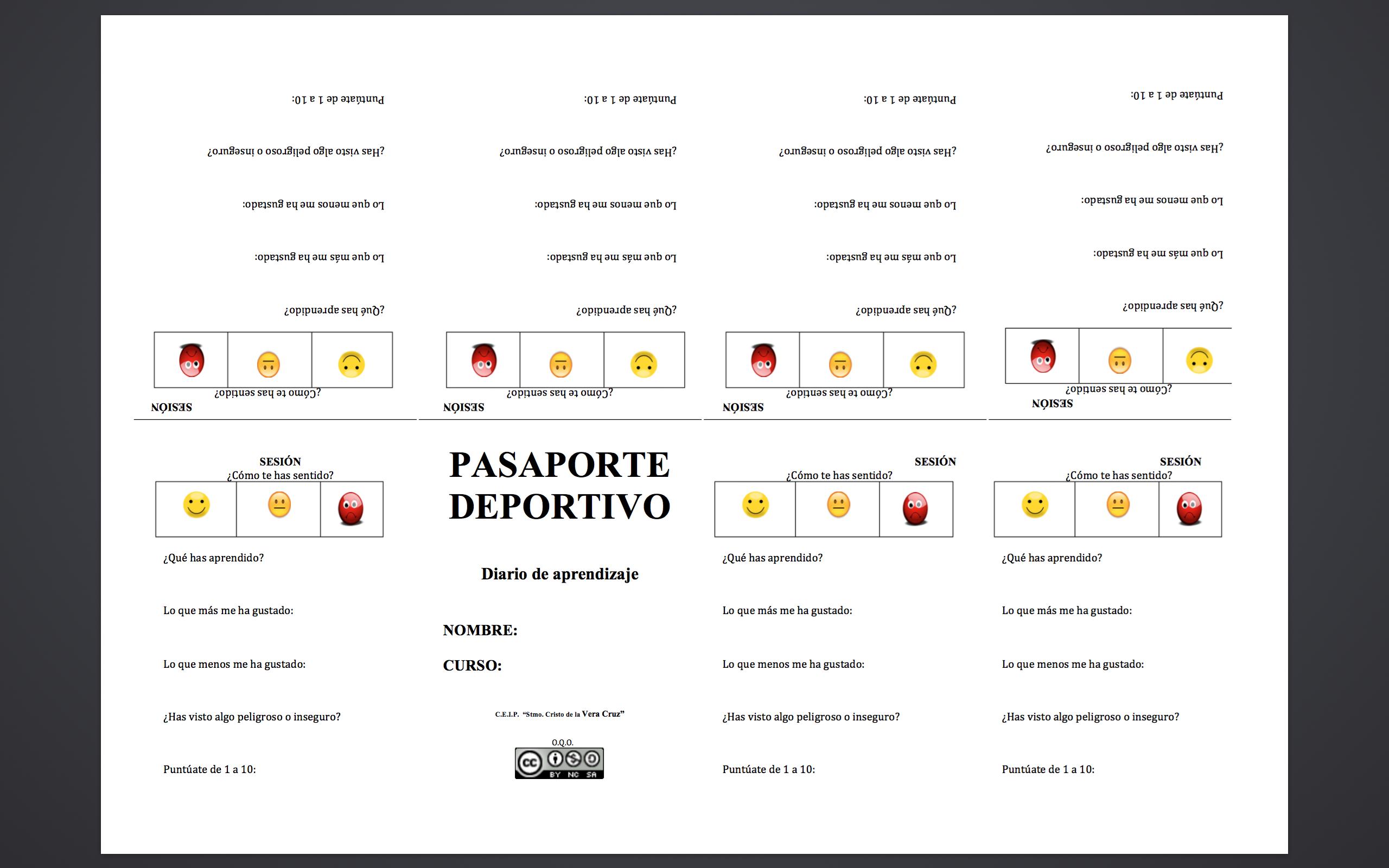 Pasaporte deportivo